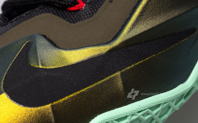nike lebron 11 gr army slate 9 22 parachute gold Nike LeBron XI is Coming out on October 12th. New pics!