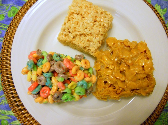 rice krispie treats corn flakes