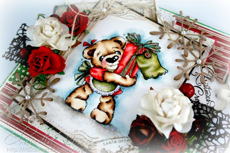 Claudia_Rosa_Teddy present