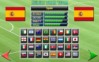 Screenshot of Gravity Football World Cup