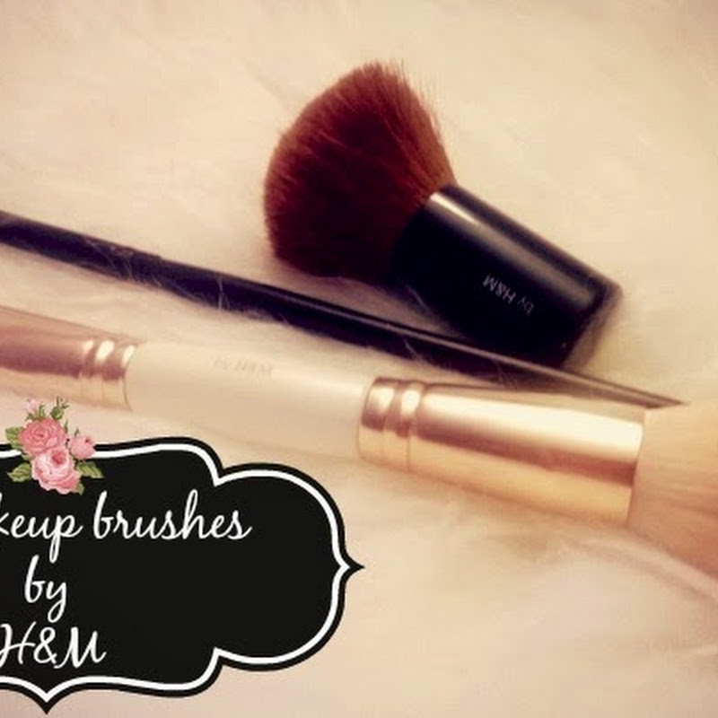 My H&M Makeup Brushes