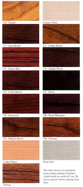 FullStain Hardwood Floor Colors