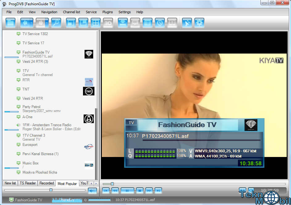 ProgDVB Pro v7.19.7 Full İndir