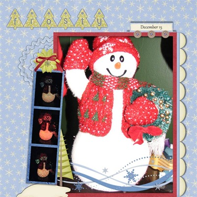 Mommy Me Time Scrapper - Dive into Winter - Frosty