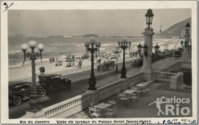 Hotel Copacabana Palace 1920
