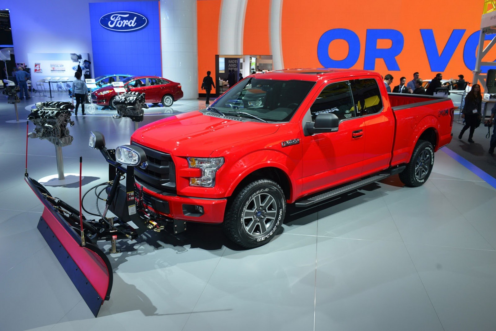 Ford F-150 Snow Plow