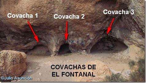 Los covachos de El Fontanal - Onil - Alicante