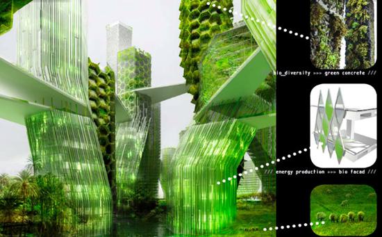 Ciudad flotante que convierte el CO2 en biodiesel