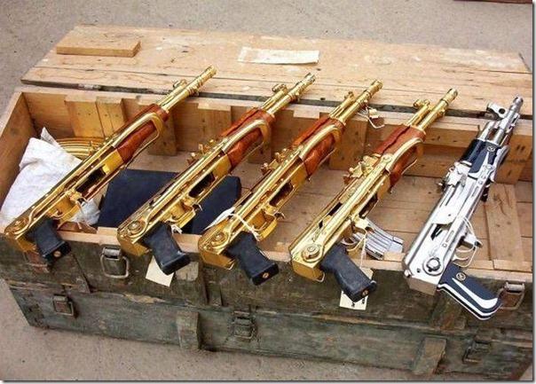 Armas de Ouro de Saddam Hussein (17)