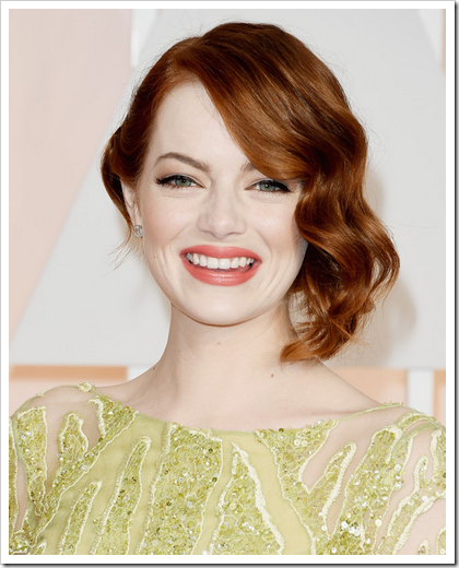 Looks beauty premios Oscar 2015 05 Emma Stone