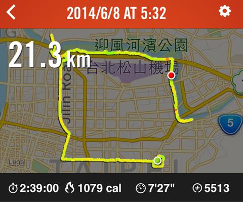 三小時內KO初半馬 - 2014 NIKE WE RUN TPE(下)10