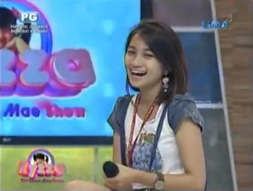 The Ryzza Mae Show tactless winner named Gelsa