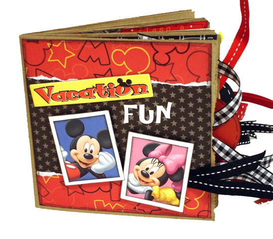 Disney Vacation Fun Scrapbook 1