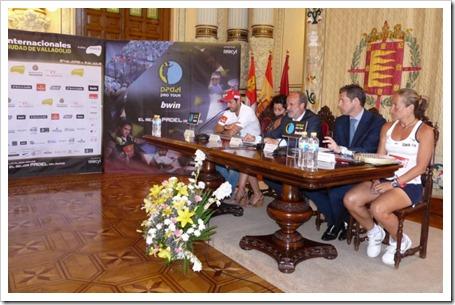 Valladolid ya disfruta del mejor pádel del mundo: Bwin PPT Internacionales Valladolid 2011 jugadores