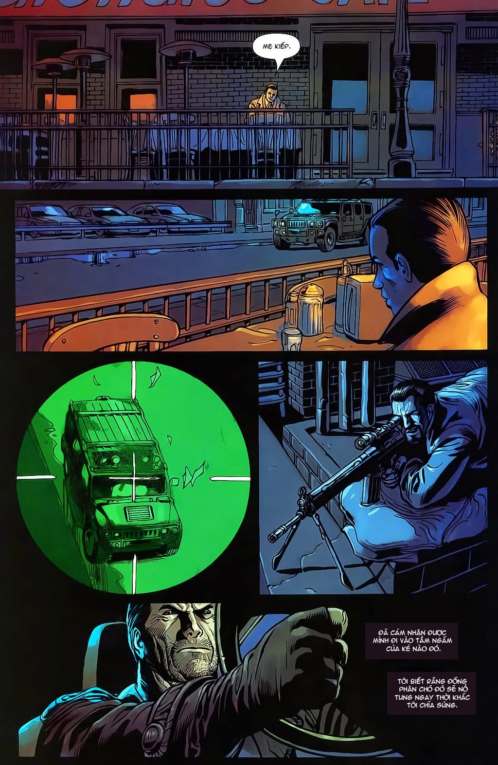 The Punisher: Trên là Dưới & Trắng là Đen chap 4 - Trang 22