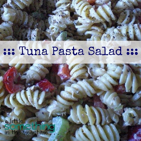 Tuna Pasta Salad Square
