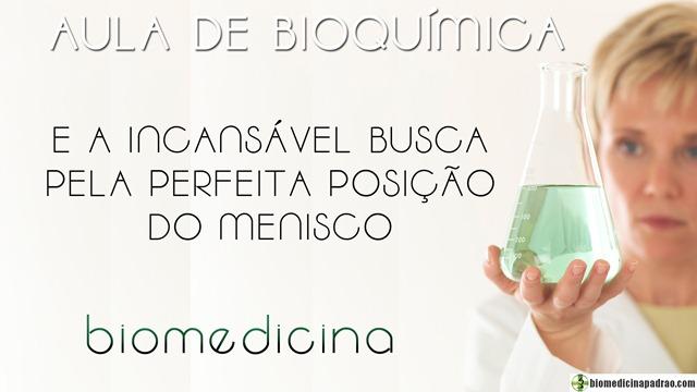 menisco bioquímica biomedicina