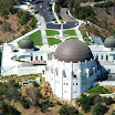 A sky view of Griffith Observatory
