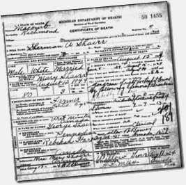 SHAVER_Sherman A_death cert_15 Aug 1924_RichmondMacombMichigan_enh