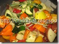 Chitra Pal Vegetables with rosemary