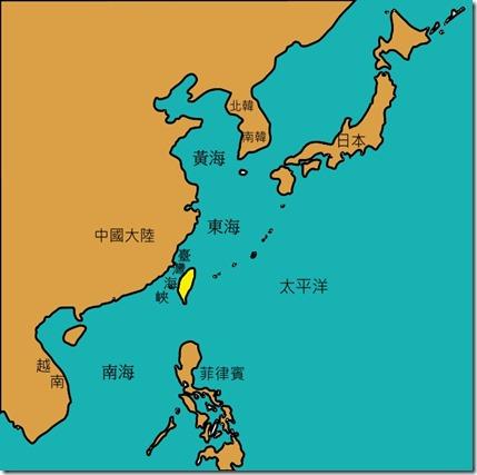 臺灣鄰近_海陸