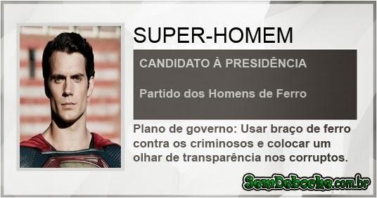 CANDIDATO: SUPER-MAN