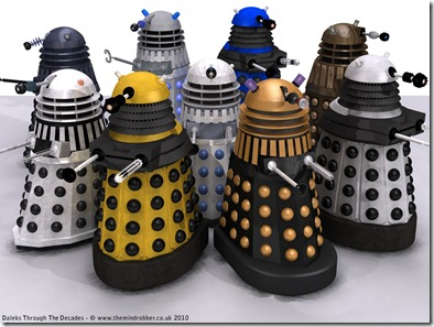 many-dalek-variations