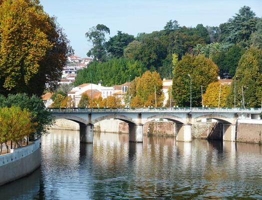 Portugal - ponte - rio  - Águeda - Glória Ishizaka
