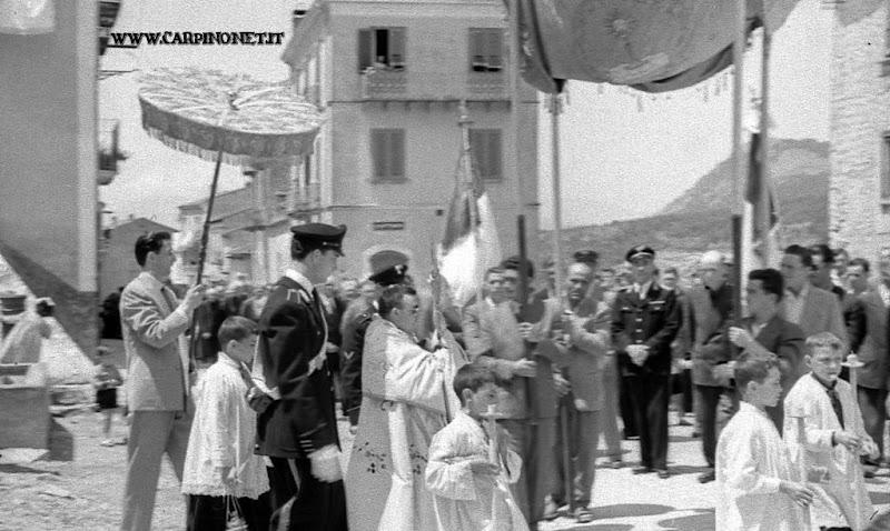Processione del Corpus Domini, 1951