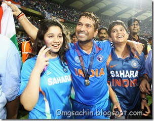 Sachin Tendulkar Sara Tendulkar India v Sri qa5648Nlx_wl