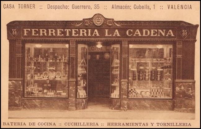 Ferretería La Cadena, 1934