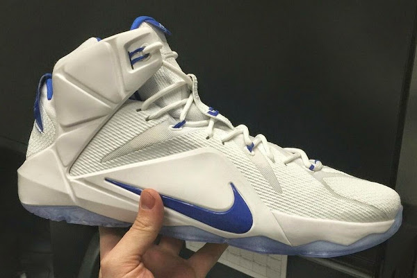 Nike LeBron 12 Kentucky Wildcats Home PE