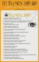 Lil Luna Halloween Trivia