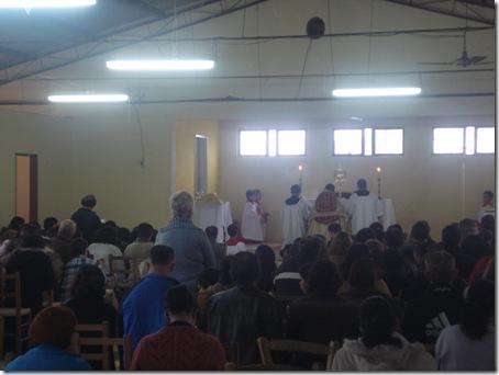 adoração no pavilhão
