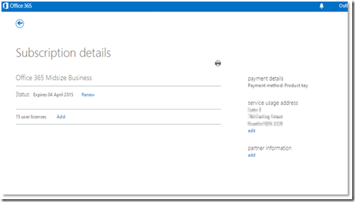 You Will Find Your License Details Under The License Option From The Menu  On The Left Hand Side Of The Office 365 Administration Portal.
