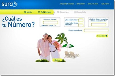 calculadora de ahorro para el retiro de afore sura en mexico