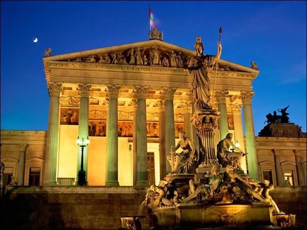 مبني البرلمان النمسا