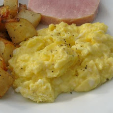 French Scrambled Eggs, Adapted from Julia Child