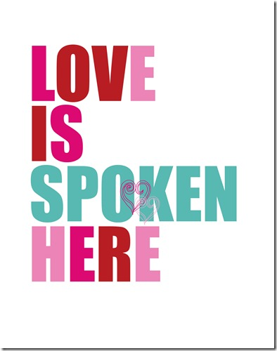 Love is Spoken Here copy