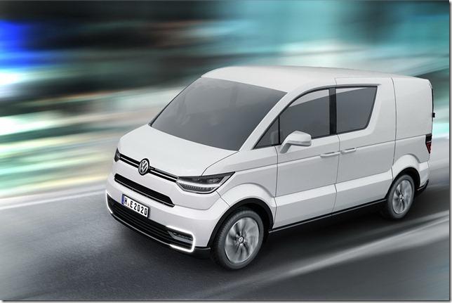 Salão de Genebra – Volkswagen E-Co-Motion Concept