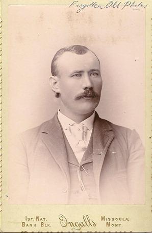 Cabinet Card August Anderson Maybe Missoula Mont DL Antiques