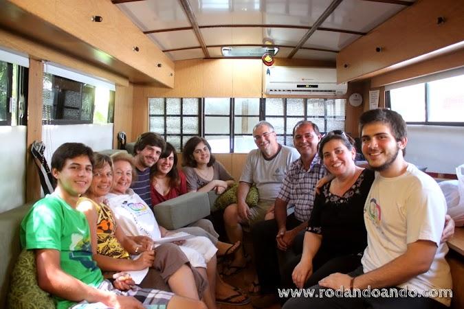 Renato, Karina, Doris y Jorge una despedida mas...