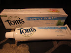 Tom's of Maine was my favorite: texture as smooth and creamy as any conventional brand, fresh mint taste, recyclable packaging, cruelty-free, 100% natural, and well-priced to boot. ($4.29 for 5.2 oz)