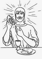 ultima cena jesus colorear e (4)