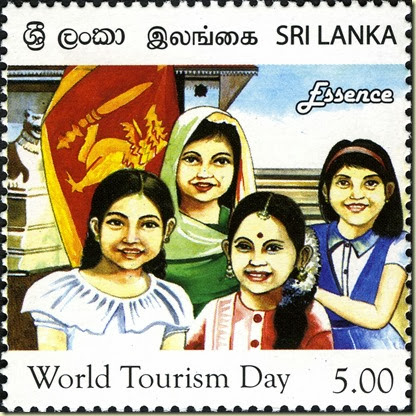World Tourism Day Stamp