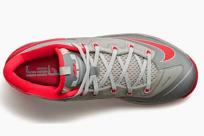 nike lebron 11 low gr laser crimson 2 02 Release Reminder: Nike Max LeBron XI Low Laser Crimson