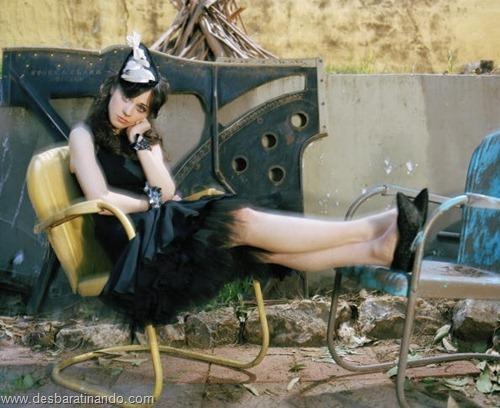 Zooey Deschanel linda sensual sexy sedutora desbaratinando (27)
