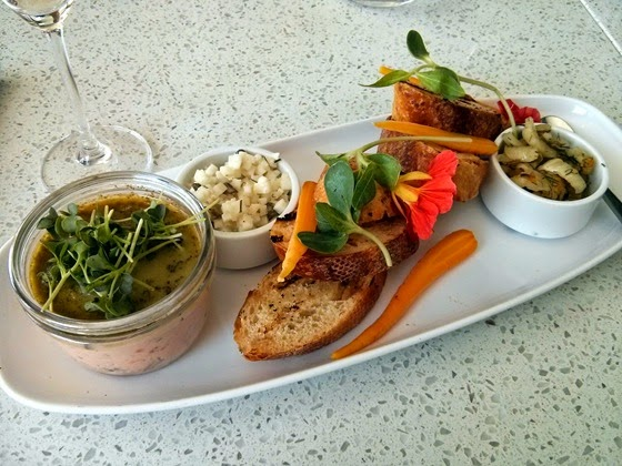 Liquidity Bistro Potted Wild Pink Salmon