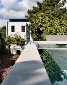 piscina-Casa-moderna-Cambrils-Ábaton
