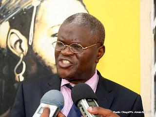 Jean Claude Mvuemba, Président National du MPCR et député national, le 17/02/2012. Radio Okapi/Ph. Aimé-NZINGA